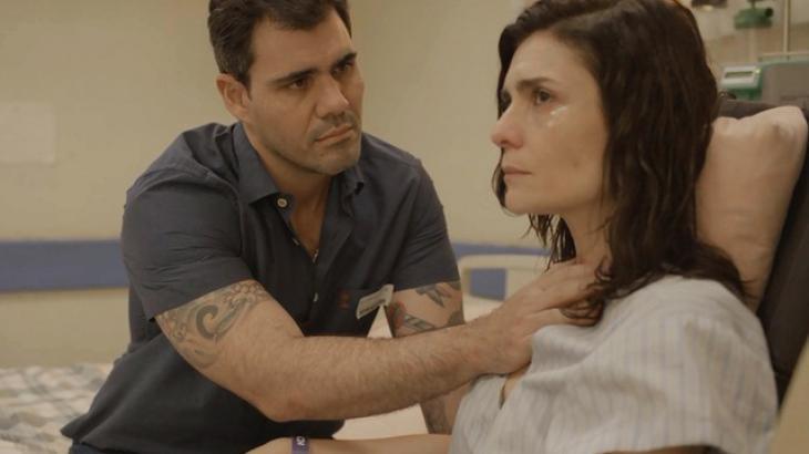 Magno e Leila em Amor de Mãe - Divulgação/TV Globo